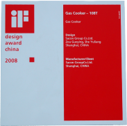 2008年Gas Cooker-108T获IF奖